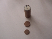 Cardboard fused Tubes 3 inches & Disks for MLR 37mm shells