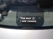 THE WAY I SEE THINGS Decal